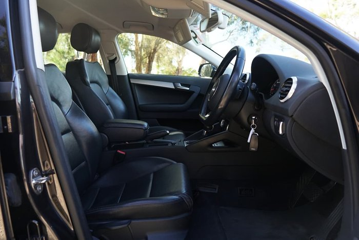 2011 Audi A3 TFSI Ambition 8P MY11 Grey