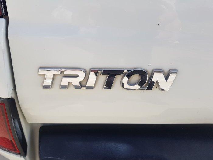 2015 Mitsubishi Triton GLX-R MN MY15 4X4 Dual Range White