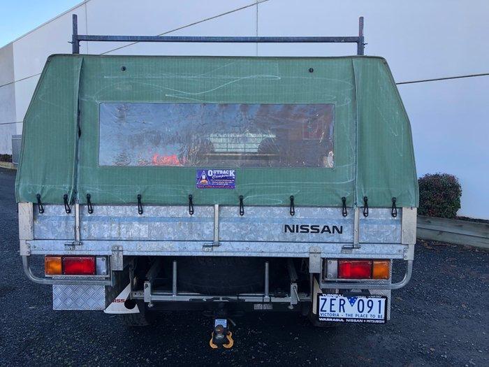 2012 Nissan Patrol ST GU 6 Series II 4X4 Dual Range Polar White