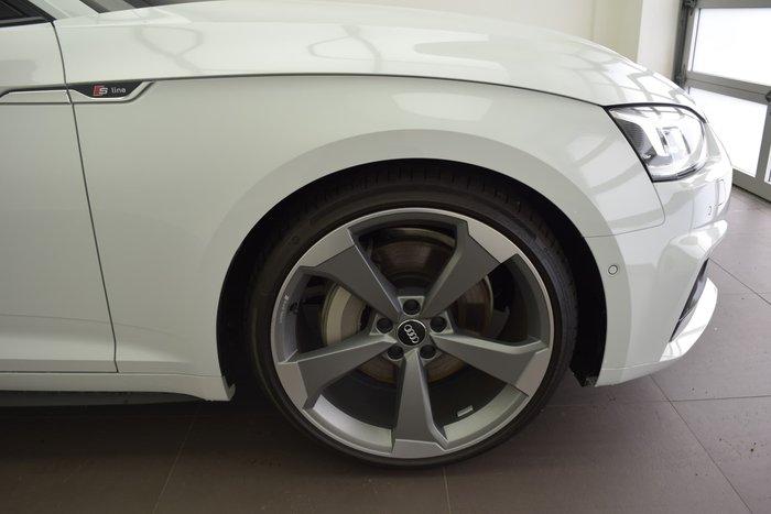 2019 Audi A5 45 TFSI sport F5 MY19 Four Wheel Drive Glacier White