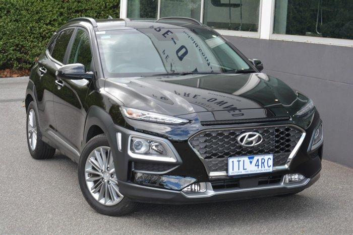 2019 Hyundai Kona Elite OS.3 MY20 Phantom Black
