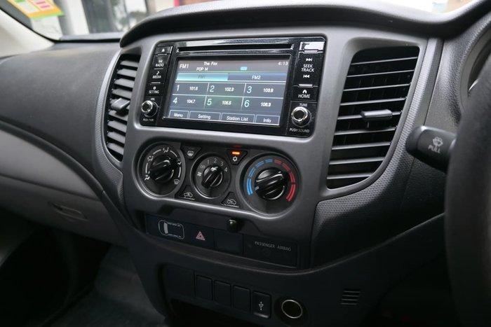 2018 Mitsubishi Triton GLX MQ MY18 4X4 Dual Range Titanium