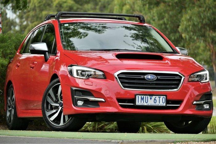 2018 Subaru Levorg 2.0 GT-S V1 MY18 AWD Pure Red