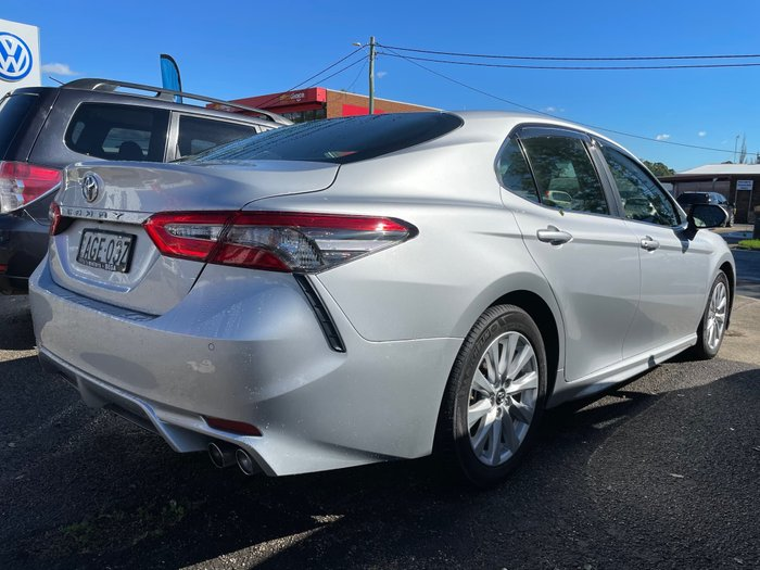 2017 Toyota Camry Ascent Sport ASV70R Silver Pearl