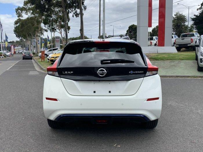 2019 Nissan LEAF ZE1 ARCTIC WHITE