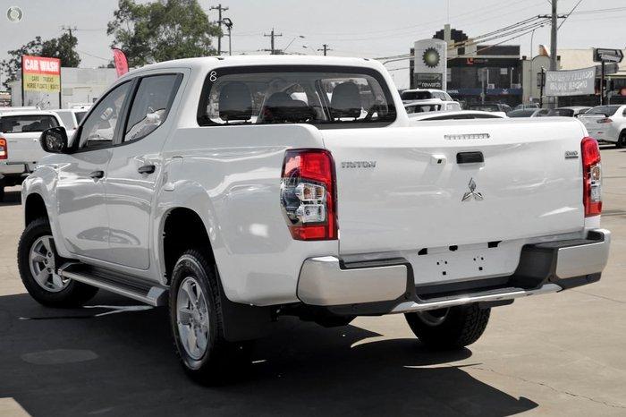 2021 Mitsubishi Triton GLX+ MR MY21 4X4 Dual Range White