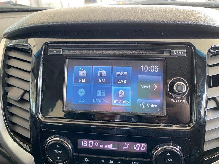 2015 Mitsubishi Triton GLS MQ MY16 4X4 Dual Range Red