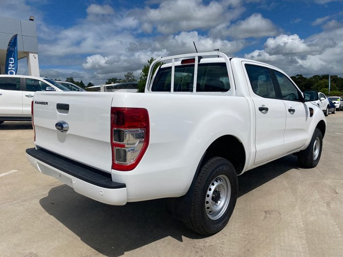2020 Ford Ranger XL PX MkIII MY21.25 4X4 Dual Range Arctic White