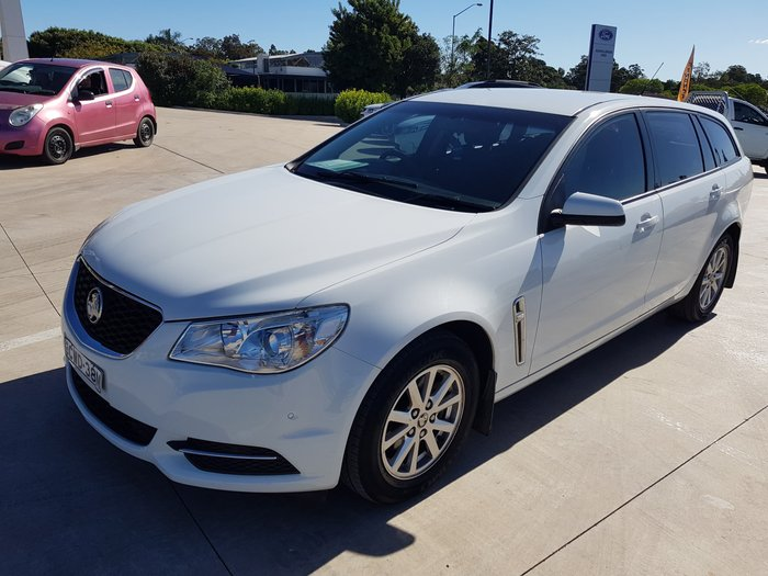 2013 Holden Commodore Omega VE Series II MY12.5 Heron White