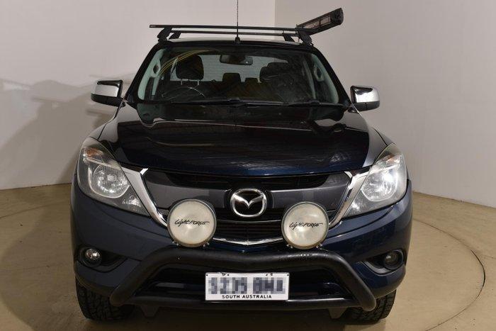 2016 Mazda BT-50 XTR UR 4X4 Dual Range Blue