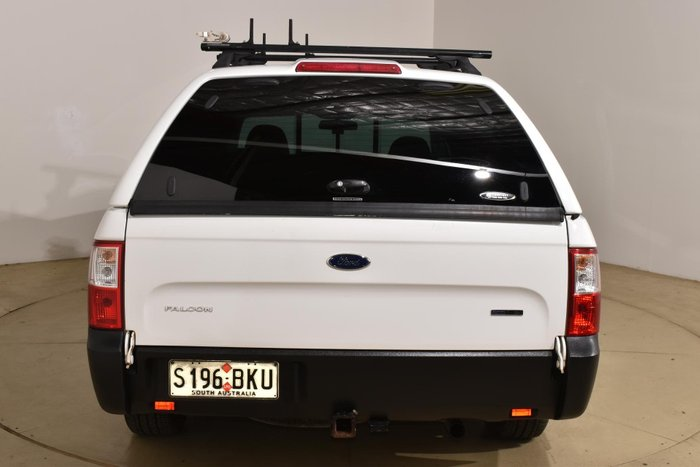 2014 Ford Falcon Ute EcoLPi FG MkII Winter White