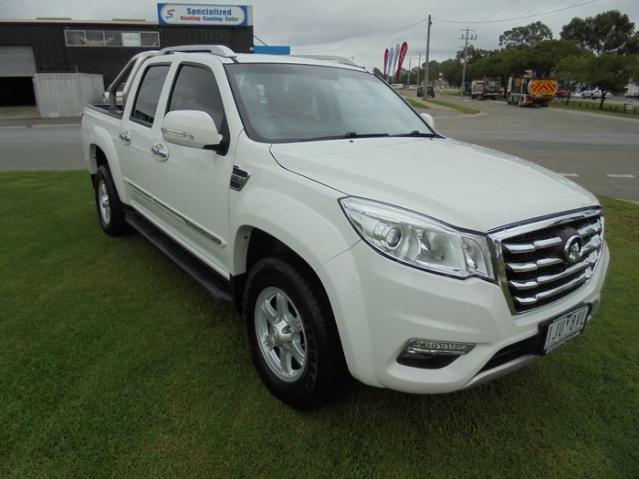 2016 Great Wall Steed NBP White