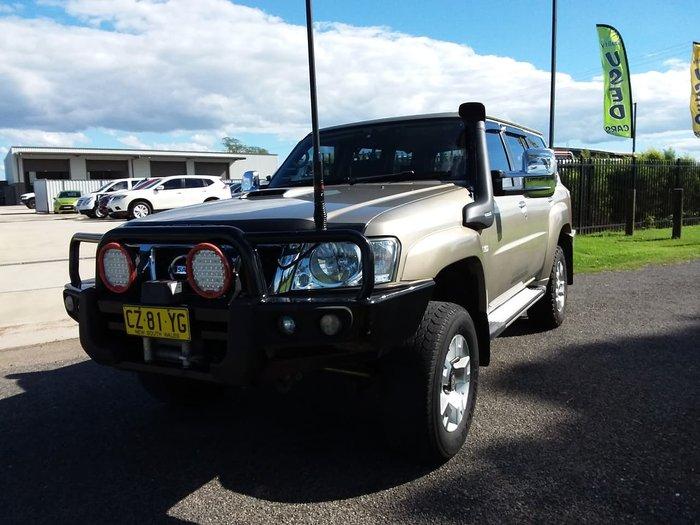 2011 Nissan Patrol ST GU 7 MY10 4X4 Dual Range Bronze