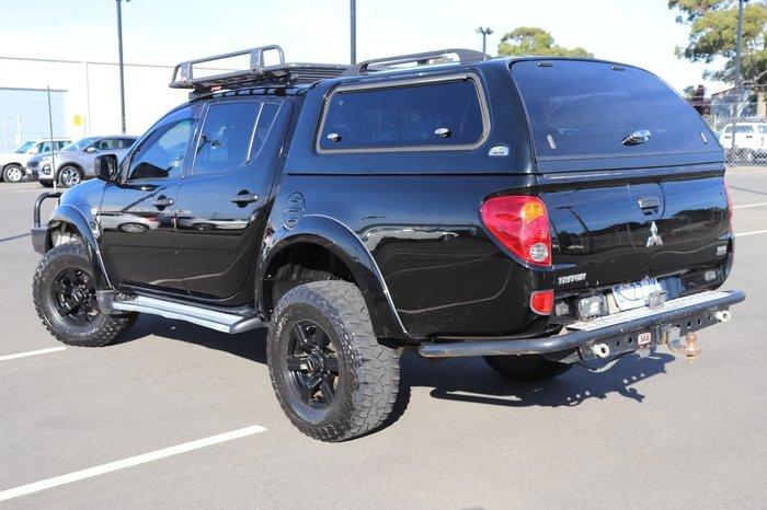 2015 Mitsubishi Triton GLX MN MY15 4X4 Dual Range Black