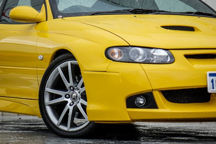 2006 Holden Special Vehicles Coupe GTO VZ Series Yellow