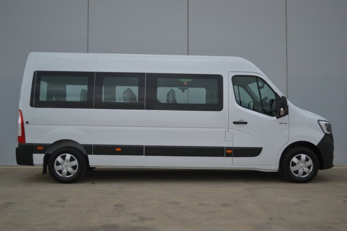 2020 Renault Master Pro 110kW X62 Phase 2 MY21 MINERAL WHITE