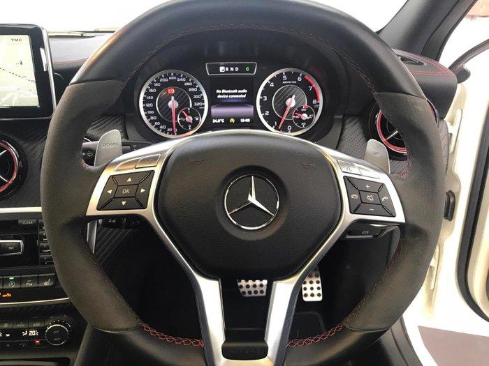 2015 Mercedes-Benz A-Class A45 AMG W176 Four Wheel Drive Cirrus White