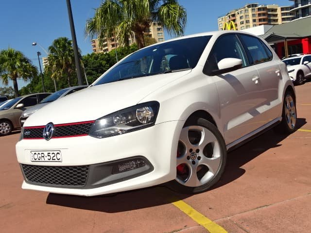 2012 Volkswagen Polo GTI 6R MY12.5 Candy White