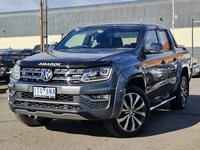 2019 Volkswagen Amarok TDI580 Ultimate 2H MY20 4X4 Constant Grey