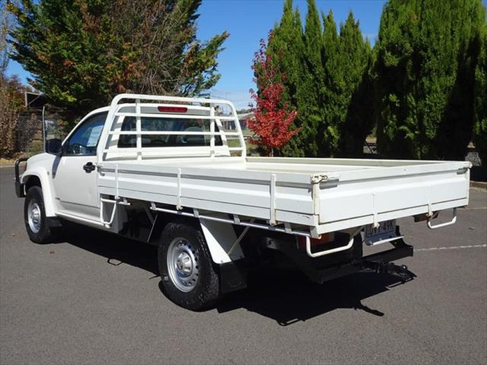 2008 Holden Colorado DX RC 4X4 White