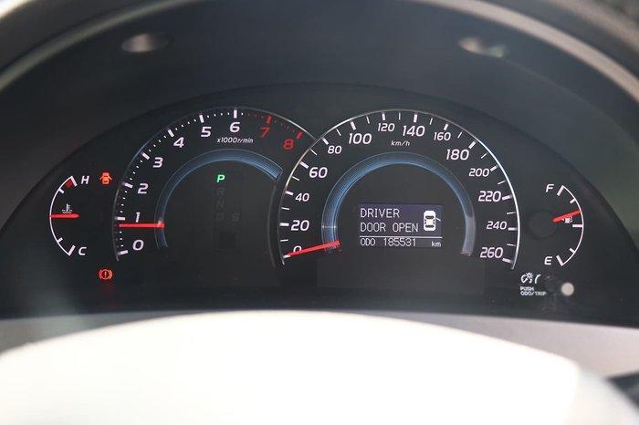 2011 Toyota Aurion Sportivo ZR6 GSV40R MY10 Silver
