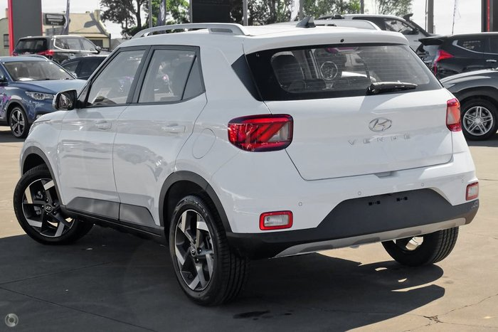 2021 Hyundai Venue Active QX.V3 MY21 Polar White