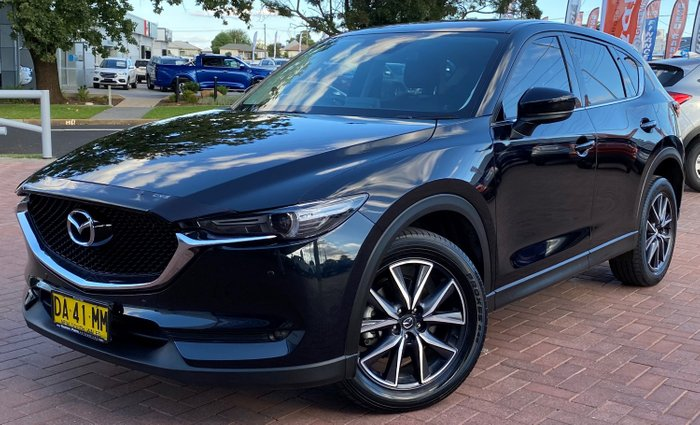2017 Mazda CX-5 GT KF Series AWD Black
