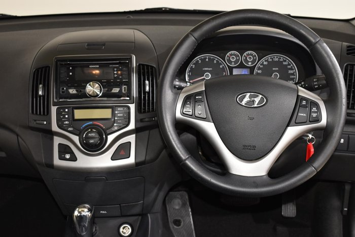 2011 Hyundai i30 SLX FD MY11 Silver