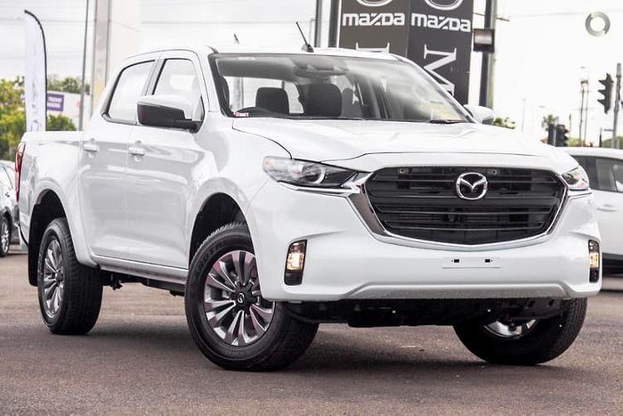 2021 Mazda BT-50 XT TF 4X4 Dual Range Ice White