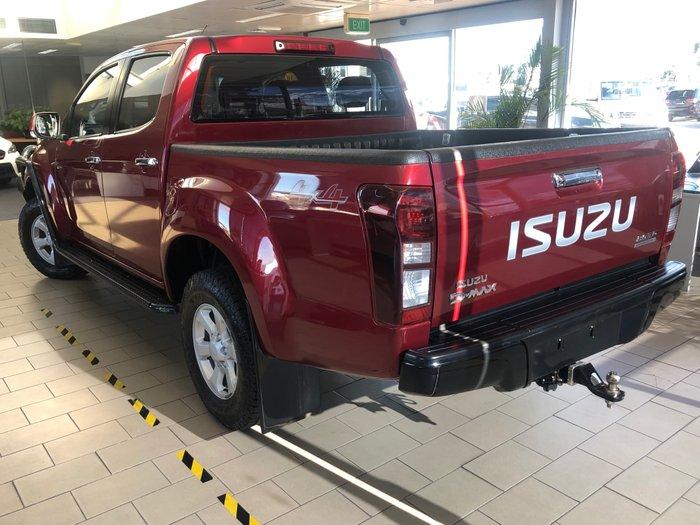 2019 Isuzu D-MAX LS-M MY19 4X4 Dual Range Magnetic Red