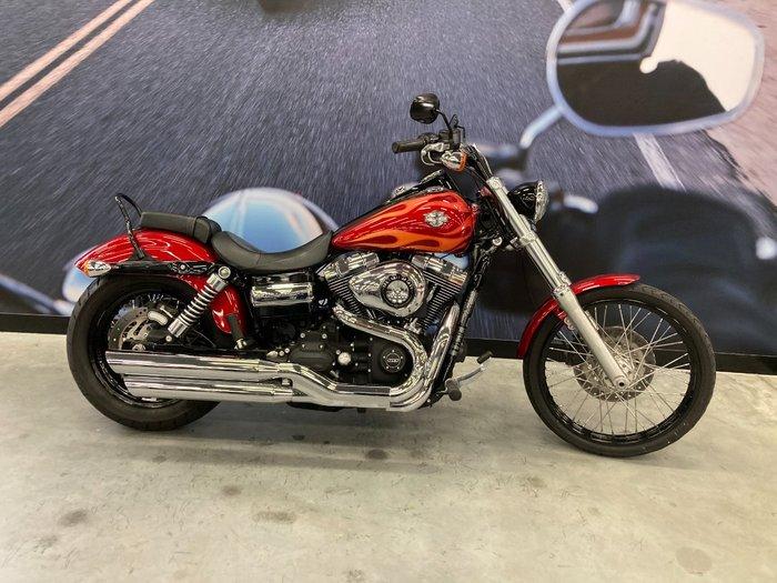 2012 Harley-davidson FXDWG WIDE GLIDE Red