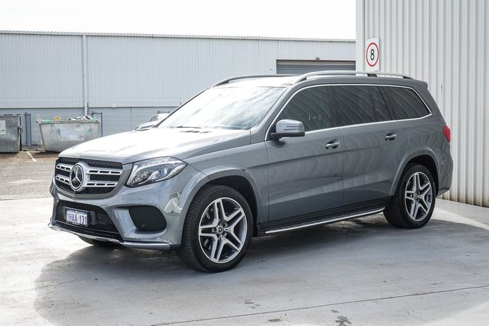 2018 Mercedes-Benz GLS-Class GLS350 d X166 Four Wheel Drive Selenite Grey