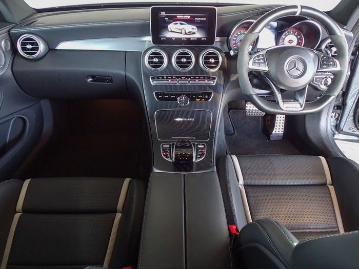 2017 Mercedes-Benz C-Class C63 AMG S C205 Grey