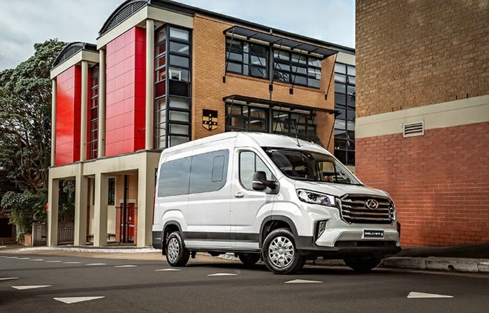 2020 LDV Deliver 9 MID ROOF MEDIUM WHEE MY21 BLANC WHITE
