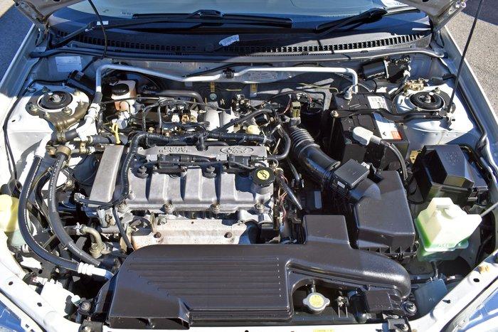 2001 Ford Laser SR KQ Gold Rush