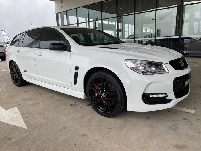 2017 Holden Commodore SS V Redline VF Series II MY17 Heron White