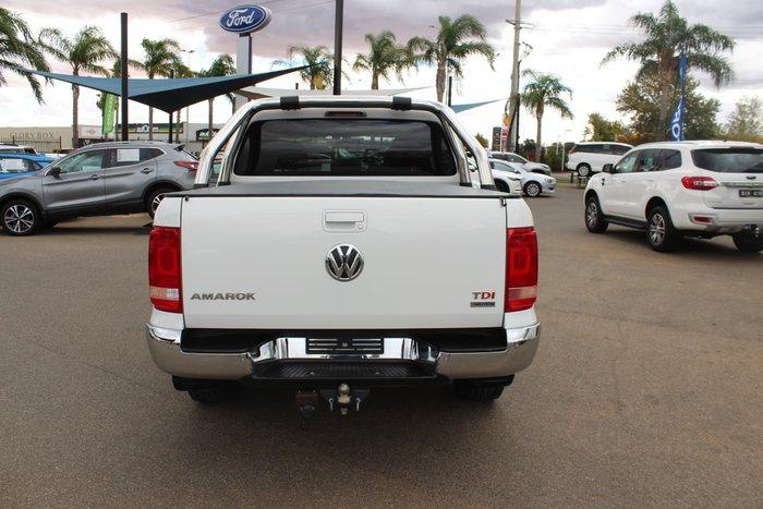 2016 Volkswagen Amarok TDI400 Highline 2H MY16 4X4 Dual Range Candy White