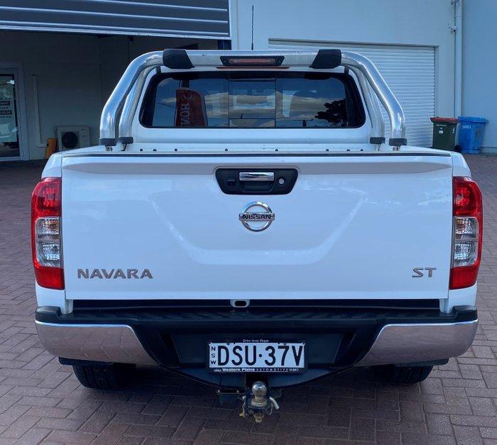 2017 Nissan Navara ST D23 Series 2 4X4 Dual Range White