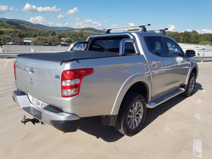 2017 Mitsubishi Triton GLS MQ MY17 4X4 Dual Range Sterling Silver
