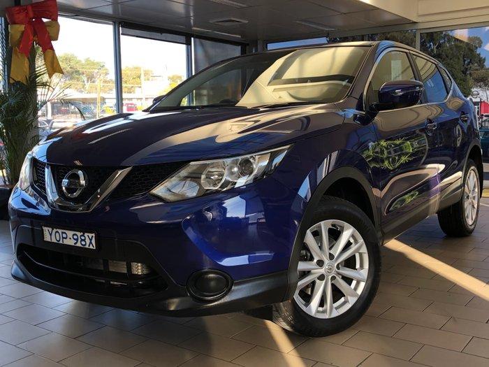 2017 Nissan QASHQAI ST J11 Ink Blue