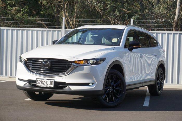 2021 Mazda CX-8 Touring SP KG Series Snowflake White Pearl