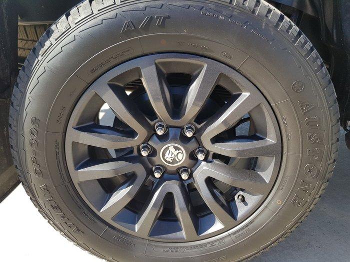 2017 Holden Colorado Z71 RG MY17 4X4 Dual Range Satin Steel Grey