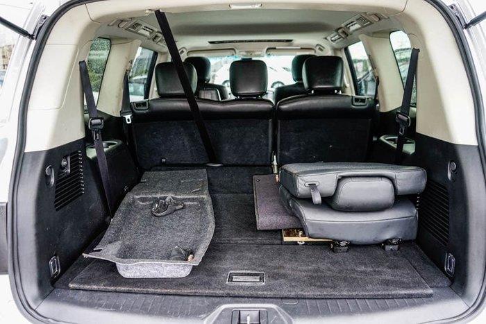 2015 Nissan Patrol Ti Y62 MY15 4X4 Dual Range Silver