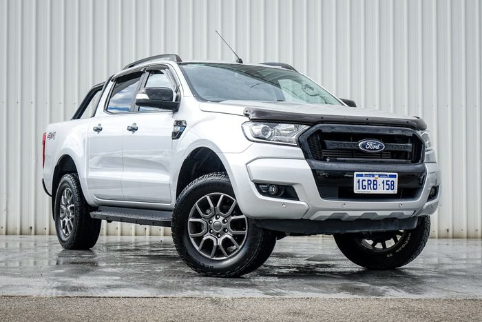 2018 Ford Ranger FX4 PX MkII MY18 4X4 Dual Range Silver