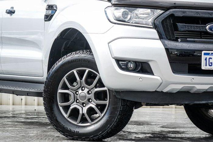 2018 Ford Ranger FX4 PX MkII MY18 4X4 Dual Range Ingot Silver