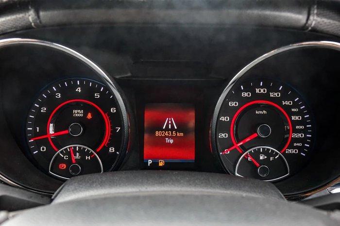 2015 Holden Commodore SS V Redline VF Series II MY16 Red