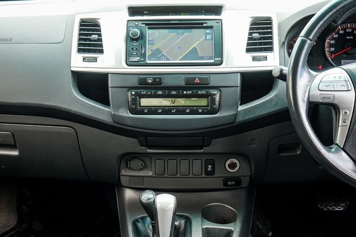 2012 Toyota Hilux SR5 KUN26R MY12 4X4 Sterling Silver