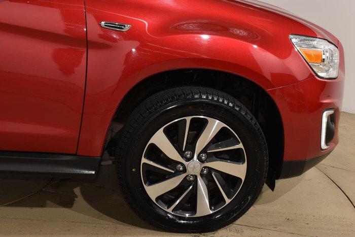 2014 Mitsubishi ASX LS XB MY15 Maroon