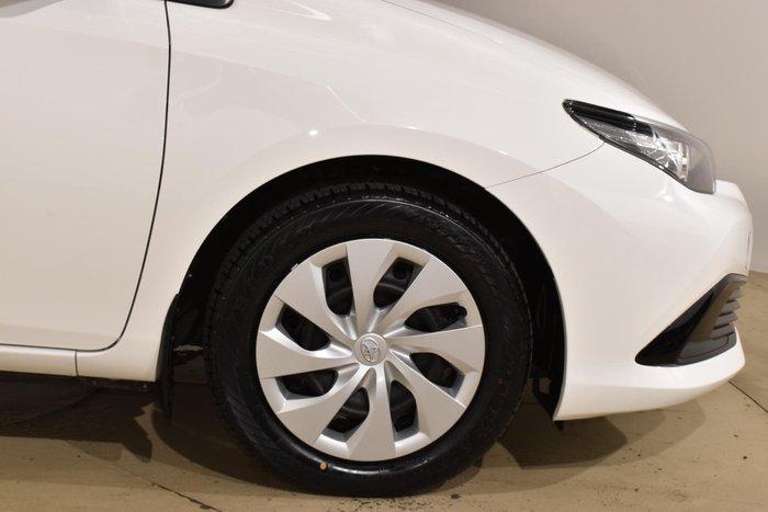 2017 Toyota Corolla Ascent ZRE182R Glacier White