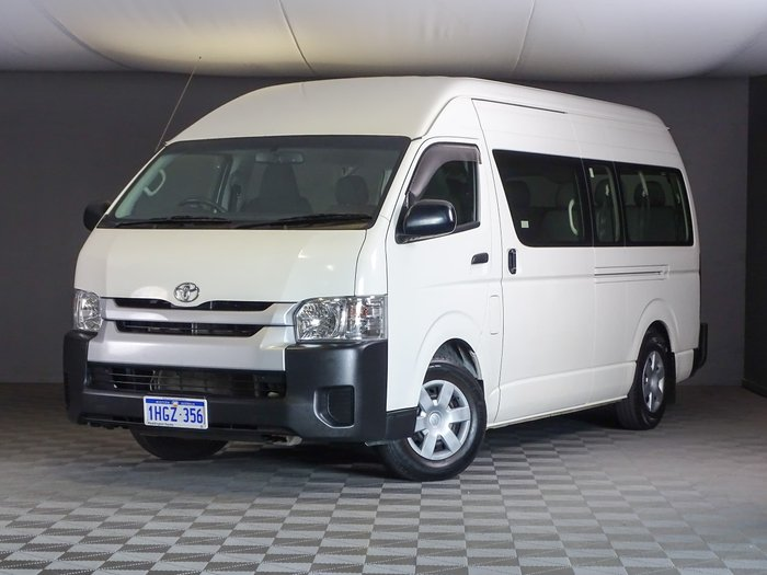 2017 Toyota Hiace Commuter KDH223R French Vanilla